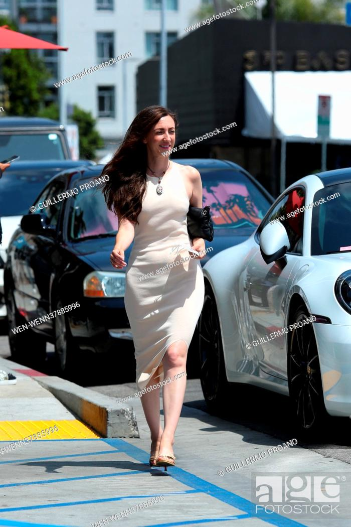 Stock Photo: Actress Amber Martinez seen out and about in Hollywood, California Featuring: Amber Martinez Where: Los Angeles, California.