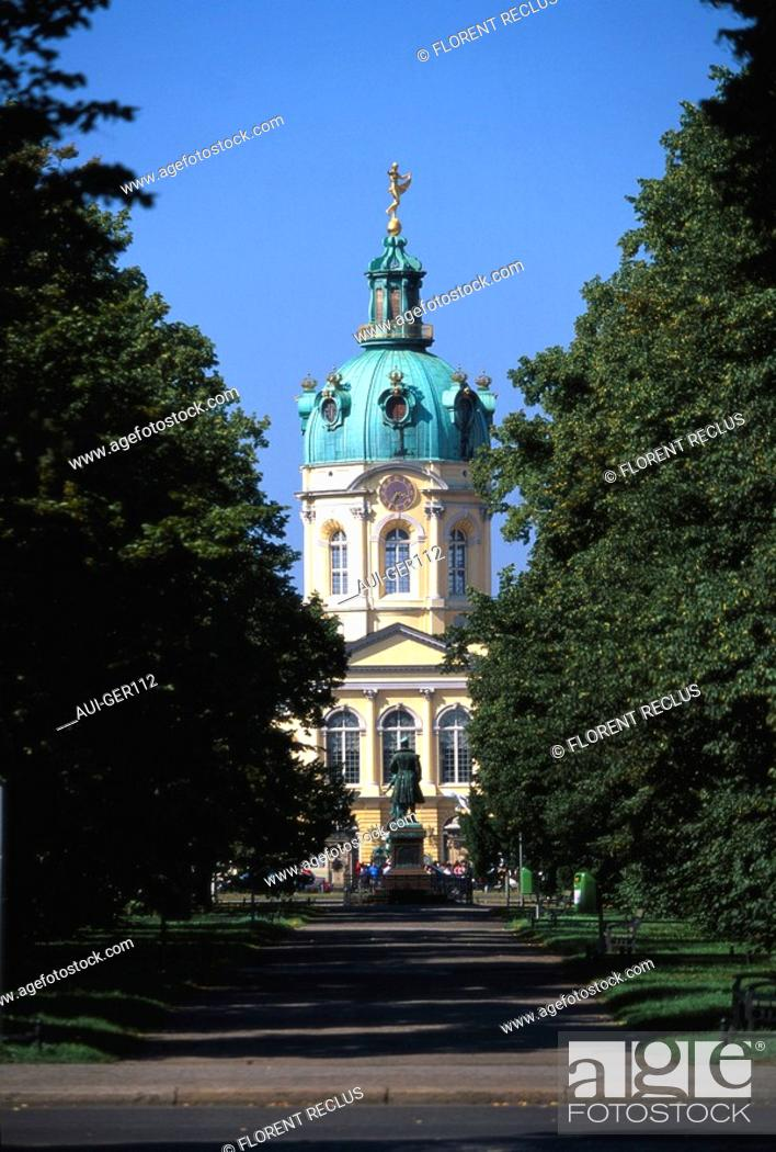 Stock Photo: Germany - Berlin - Charlottenburg Castle.