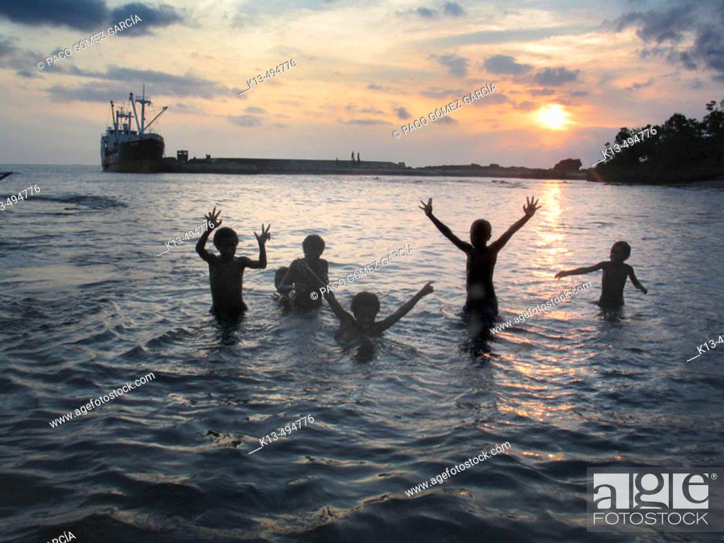 Stock Photo: Tanna, Vanuatu.