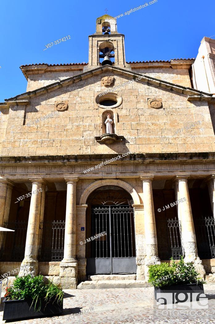 Photo de stock: Ciudad Rodrigo, Capilla de la Venerable Orden Tercera (18th century). Salamanca province, Castilla y Leon, Spain.