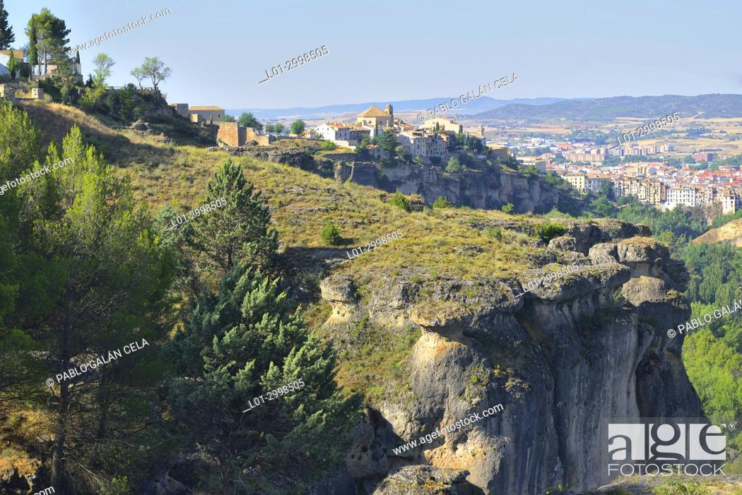 Imagen: Cuenca city and Jucar river gorge.