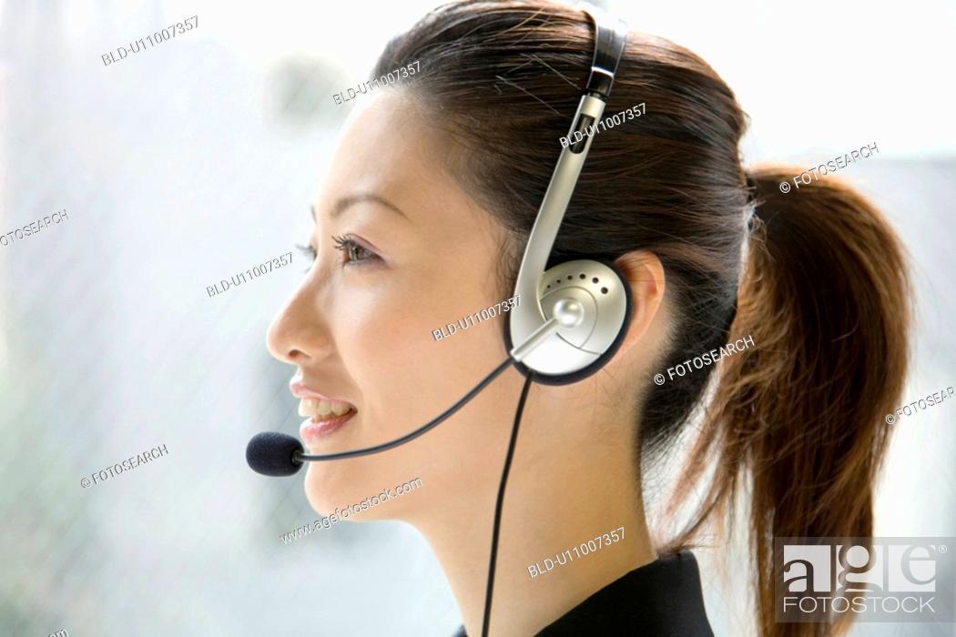 Stock Photo: Operator.