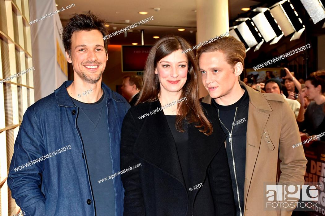 Premiere Of Der Geilste Tag At Zoo Palast Movie Theatre Featuring