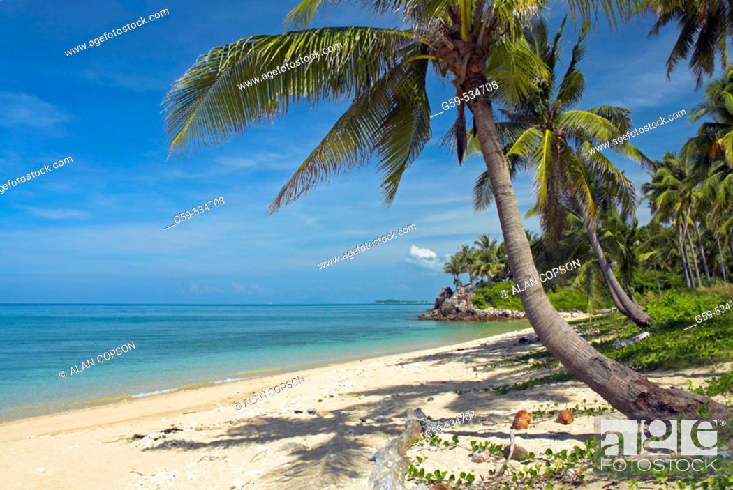 Stock Photo: Asia Thailand Andaman Sea Coast Ko Lanta Hat Phra Ae (Phra Ae Beach).
