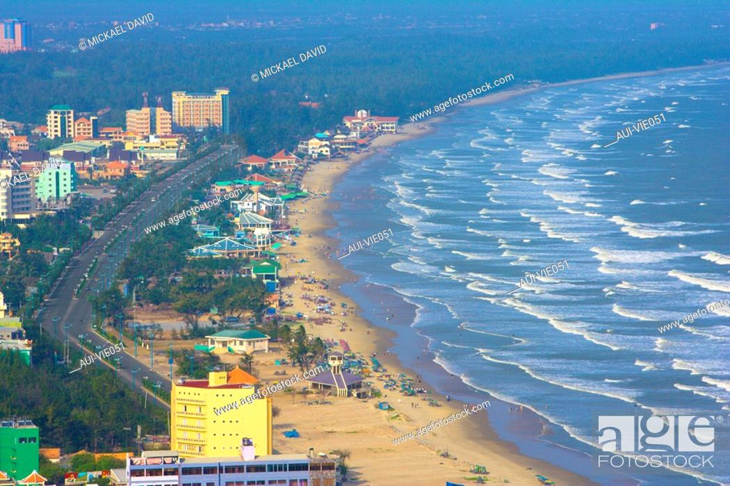 Stock Photo: Vietnam - The South - Vung Tau Cape Saint Jacques - Bai Sau Beach Seashore.