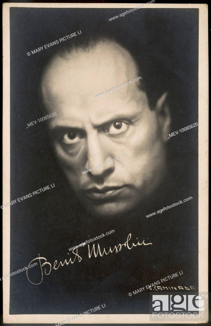 how did benito mussolini become prime minister of italy
