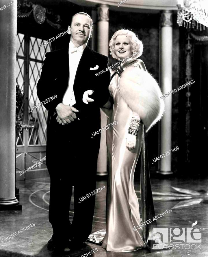 Wallace Beery Jean Harlow Eine Dame Der Gesellschaft Plant Stock Photo Picture And Rights Managed Image Pic Uai 01257369 Agefotostock