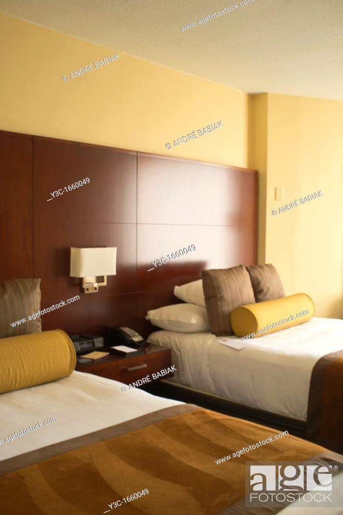 Stock Photo: Hotel Double Room.