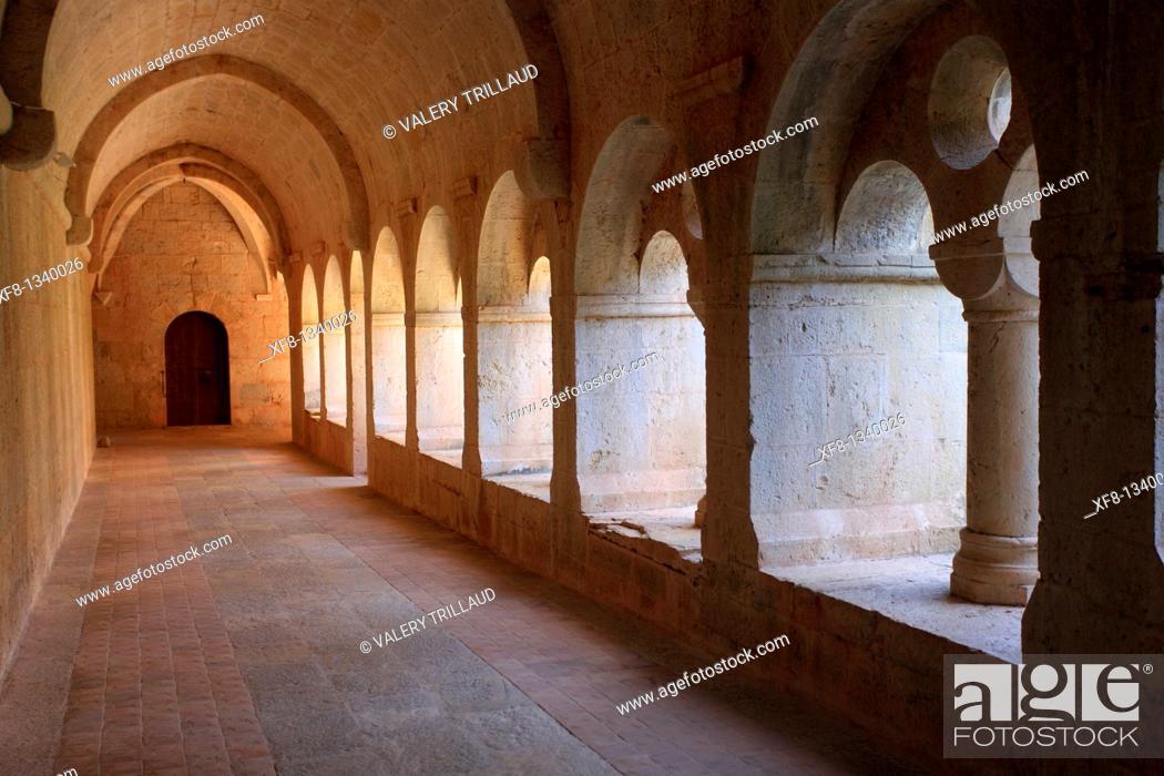 Stock Photo: The abbey of Thoronet, Le Thoronet, Var, 83, PACA, France.