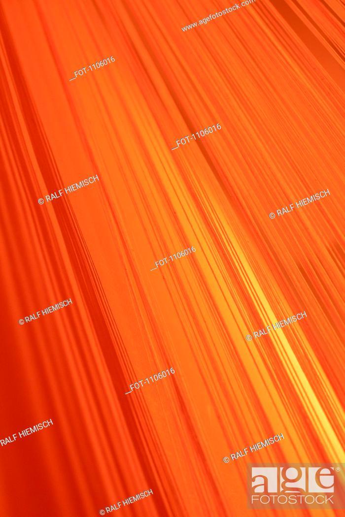 Stock Photo: Lined gradient of orange.