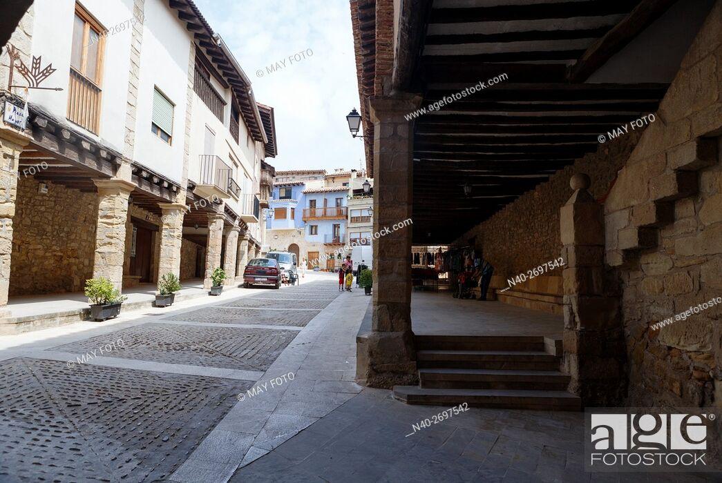 Imagen: Ráfales, Teruel, Spain.