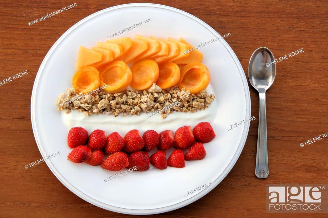 Photo de stock: Healthy breakfast.
