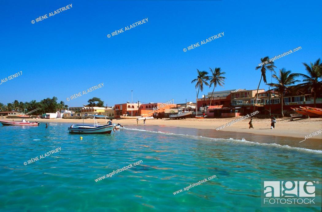 Stock Photo: Senegal - La Presqu'ile du Cap-Vert - Pointe des Almadies - Plage de N'Gor.