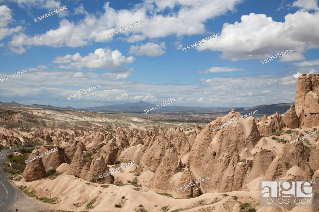 Stock Photo: Devrent Valley reveals many different rock formations and is located near Goreme.