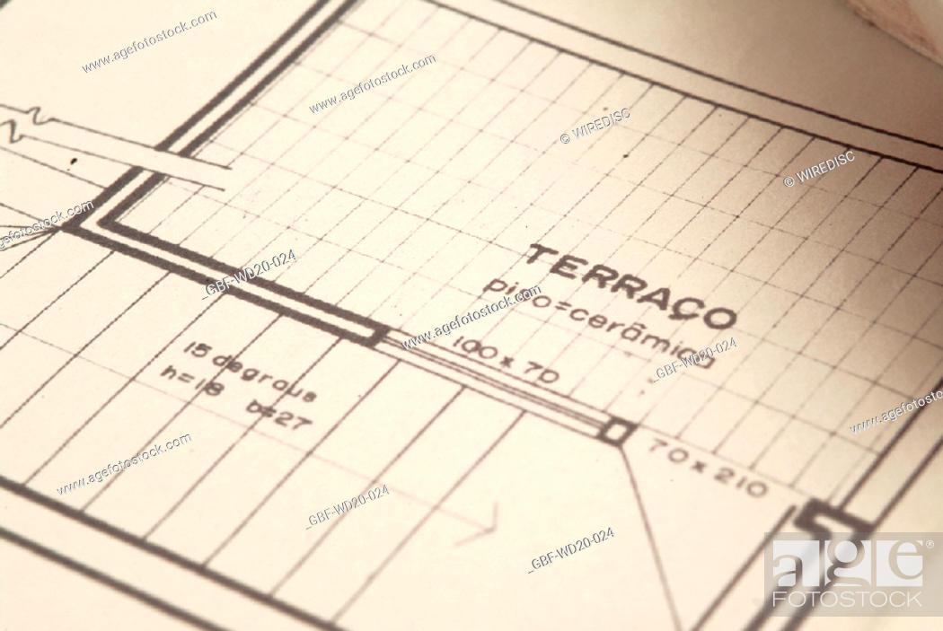 Stock Photo: Project, architecture, Brazil.
