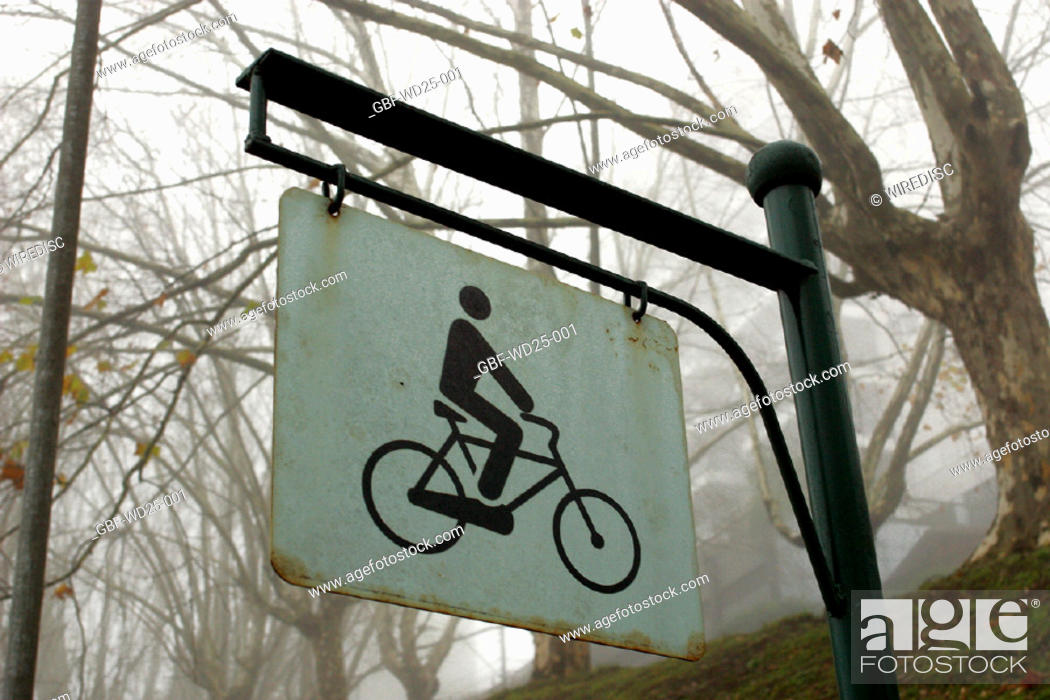 Stock Photo: Transport, plate, cyclist.