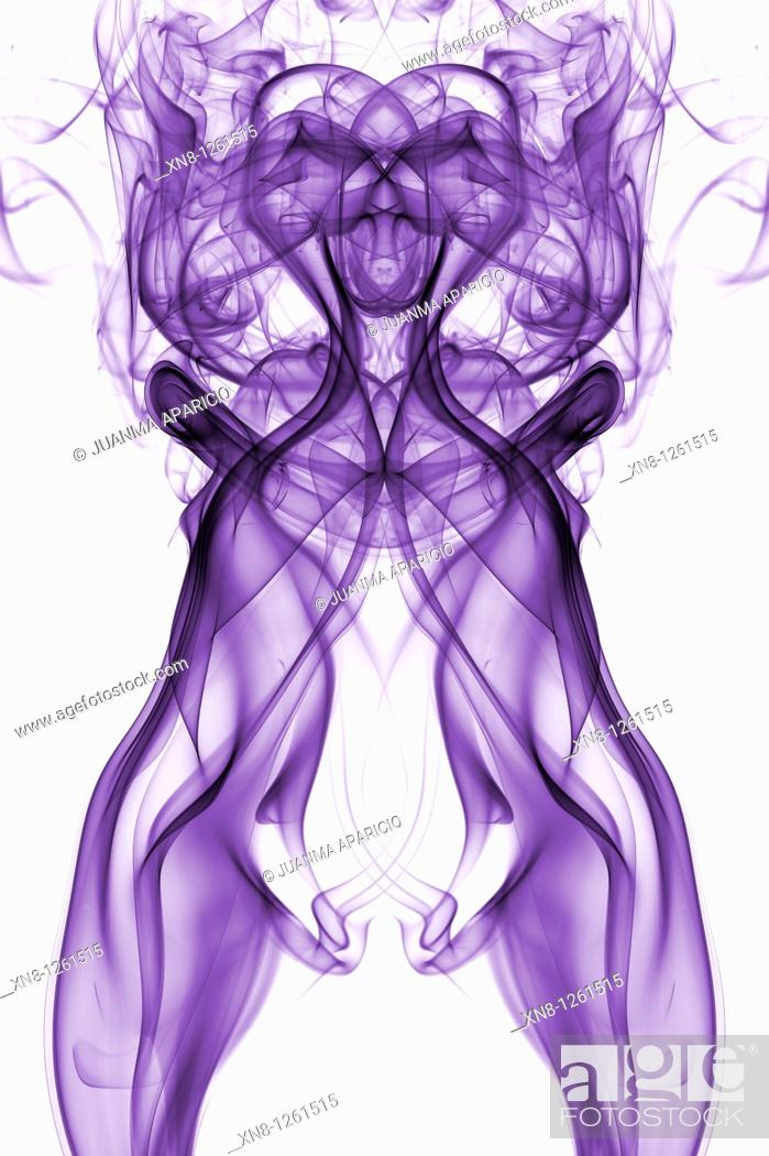 Stock Photo: Purple indefinitely.