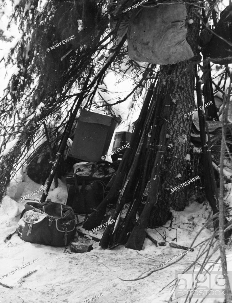Equipment used by the individual Finnish soldiers during