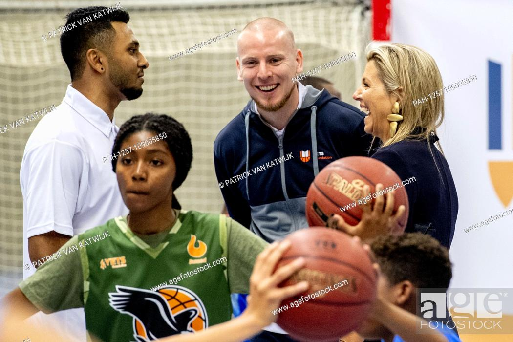 Queen Maxima of The Netherlands visits Lets Youth Empowerment