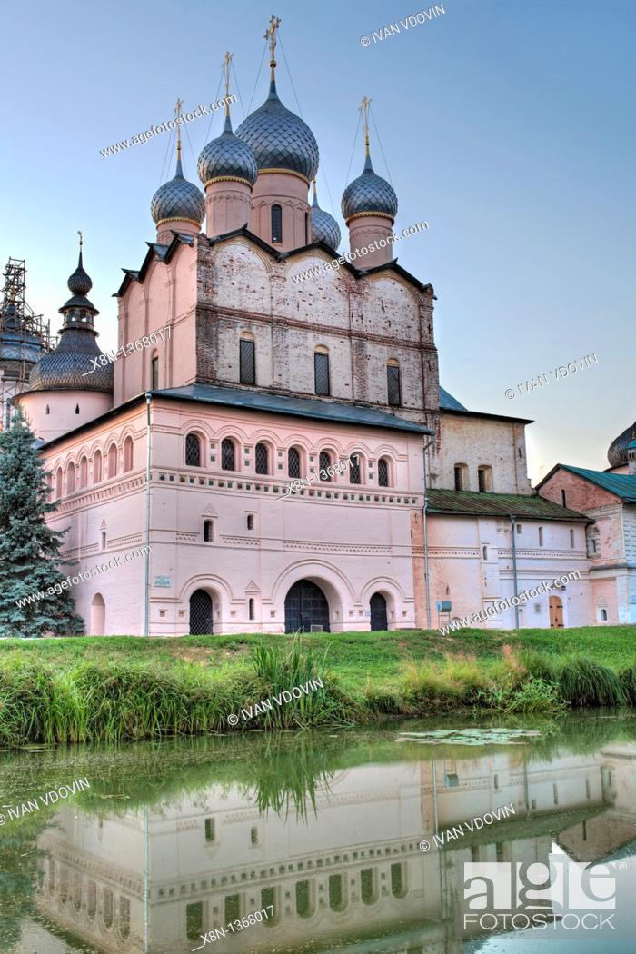 Stock Photo: Church of Resurrection 1670, Rostov, Yaroslavl region, Russia.