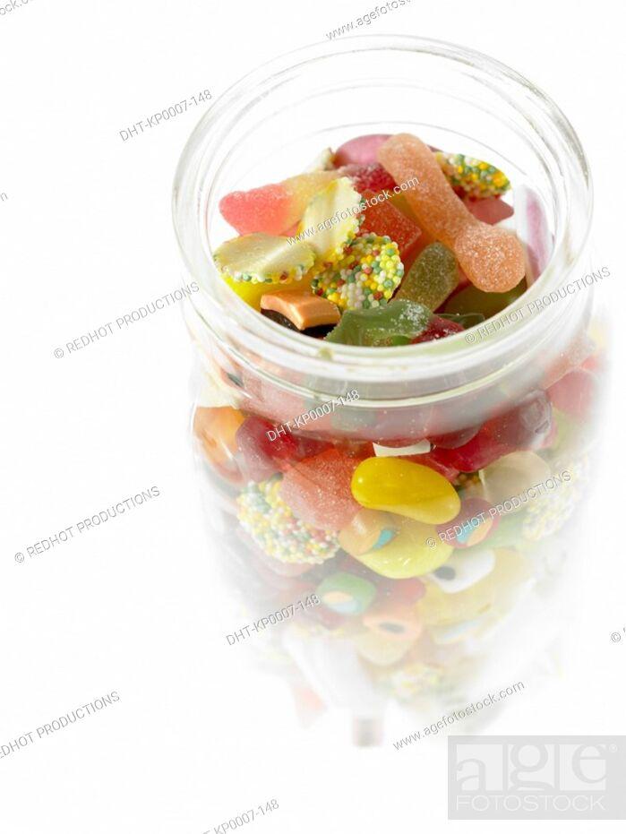 Imagen: Food - Assorted Sweets in Jar.