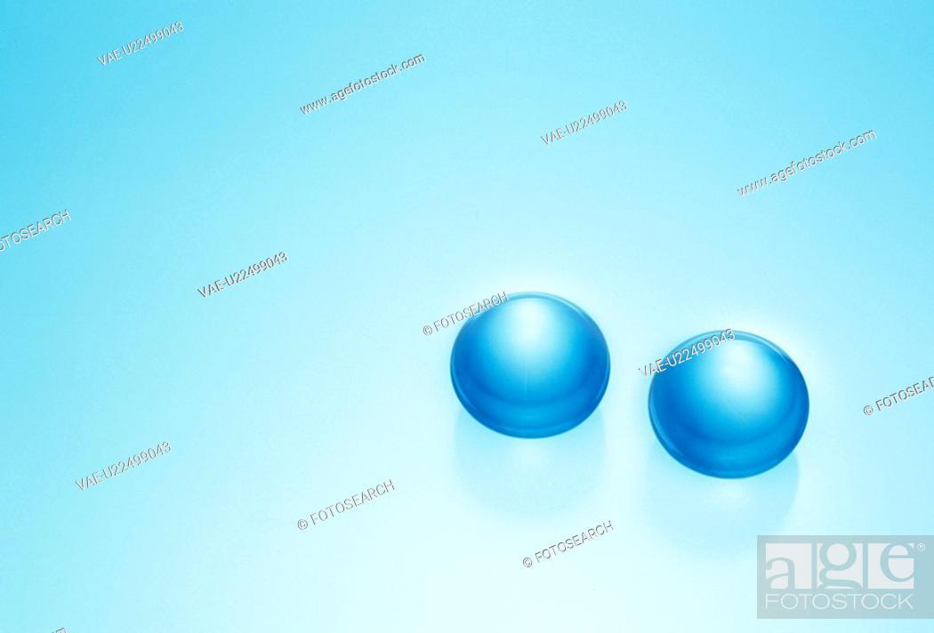 Stock Photo: Two Balls.