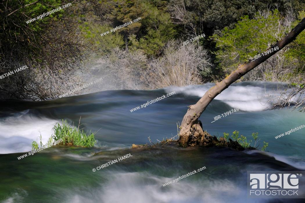 Stock Photo: Krka Falls National Park, Croatia, Europe.