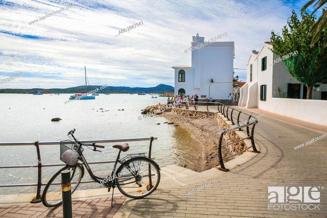 Imagen: Fornells Village. Es Mercadal Municipality. Minorca Island. Balearic Islands. Spain.