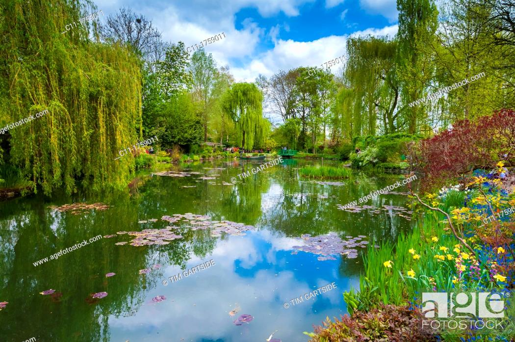 Imagen: Monet's garden, Giverny, Normandy, France,.
