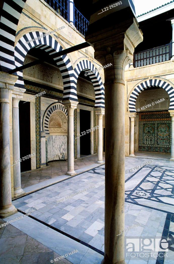 Stock Photo: Zaouia Sidi el Ghariani mosque. Kairouan. Tunisia.