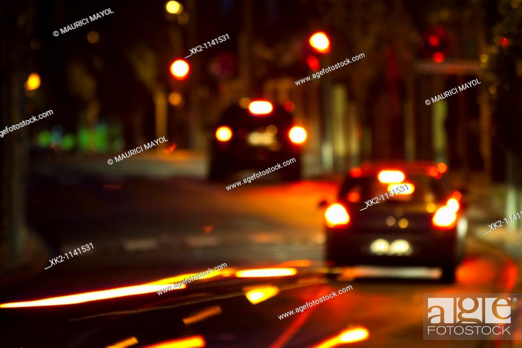 Stock Photo: Drunk driving.