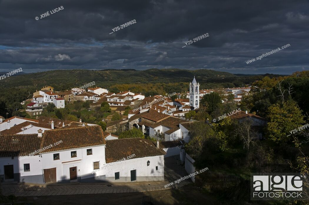 Stock Photo: Panoramic view, Los Marines, Huelva province, Region of Andalusia, Spain, Europe.