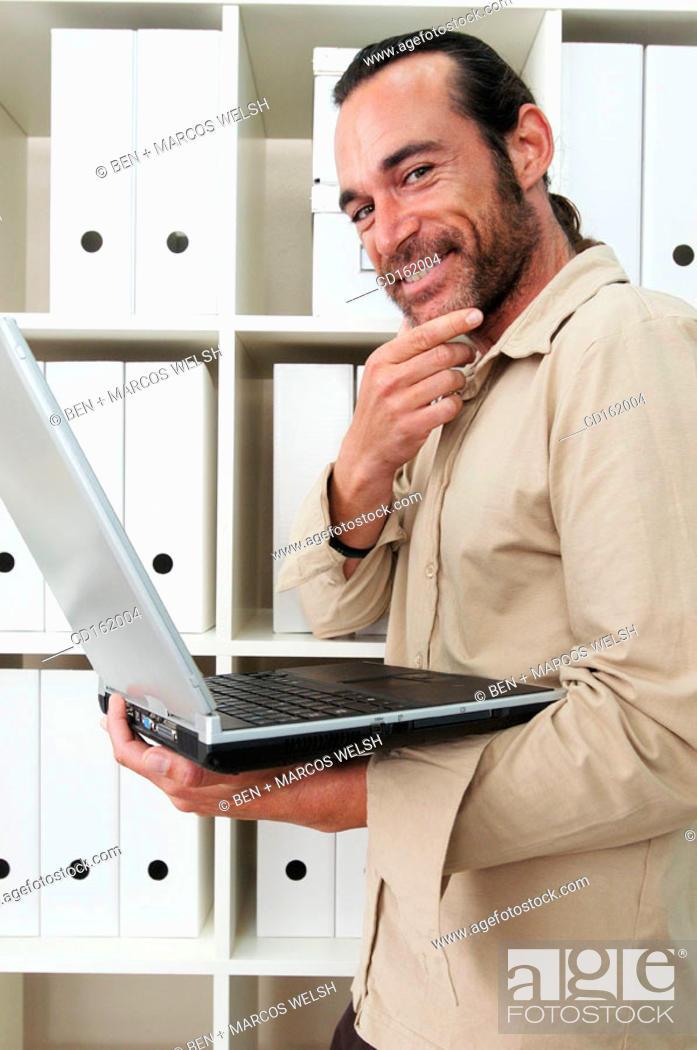 Stock Photo: Businessman.