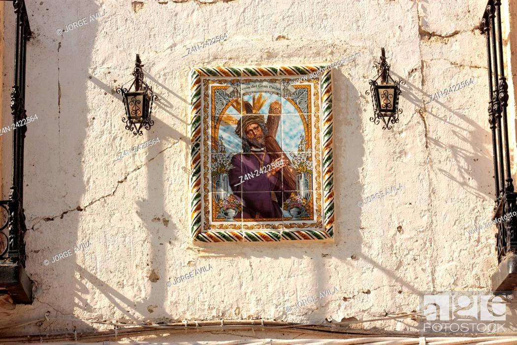 Imagen: Street, Chinchon, Spain.