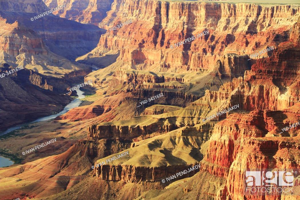 Stock Photo: Grand Canyon, Arizona, USA.