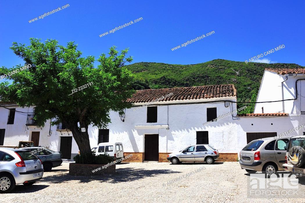 Stock Photo: Alájar, Huelva province, Spain.