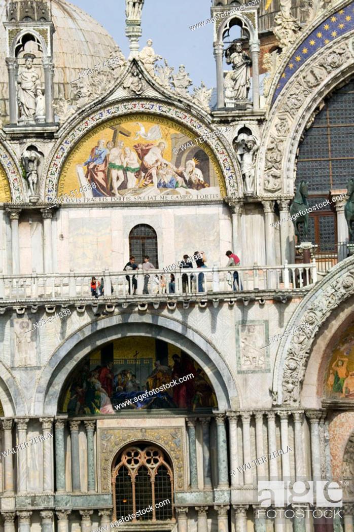 Stock Photo: San Marco piazza (square). Venice. Italy.