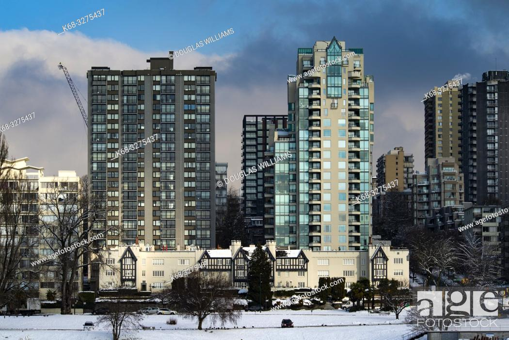 Imagen: Vancouver West End skyline from Vanier Park, Vancouver, BC, Canada.
