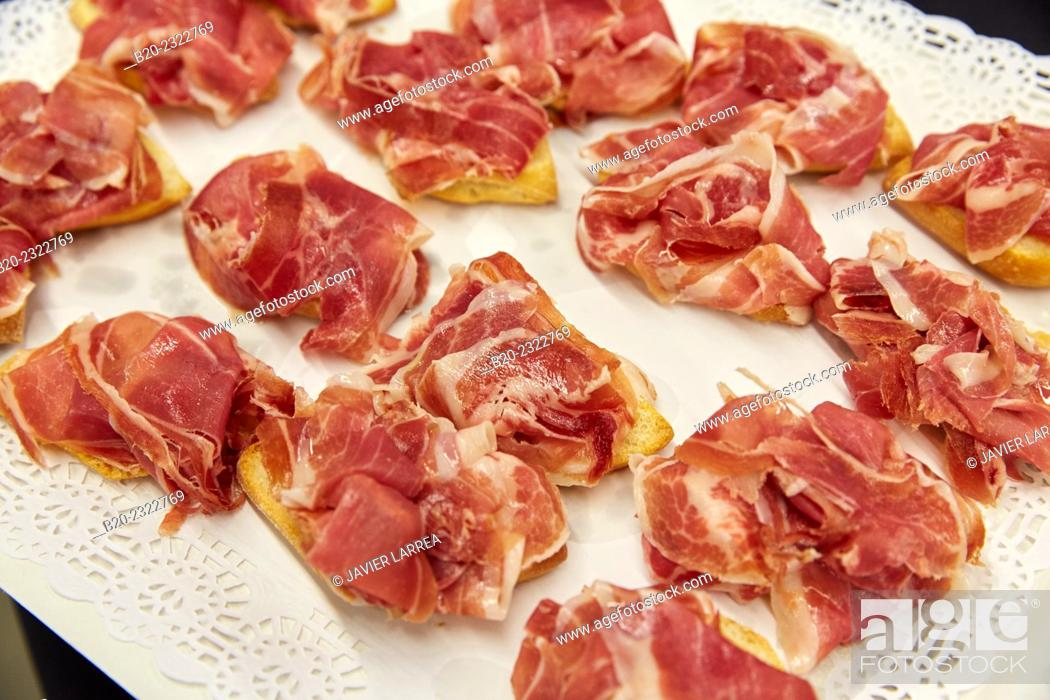 Imagen: Ham. Catering service. Seminar. Office building. Zamudio. Bizkaia. Basque Country. Spain.