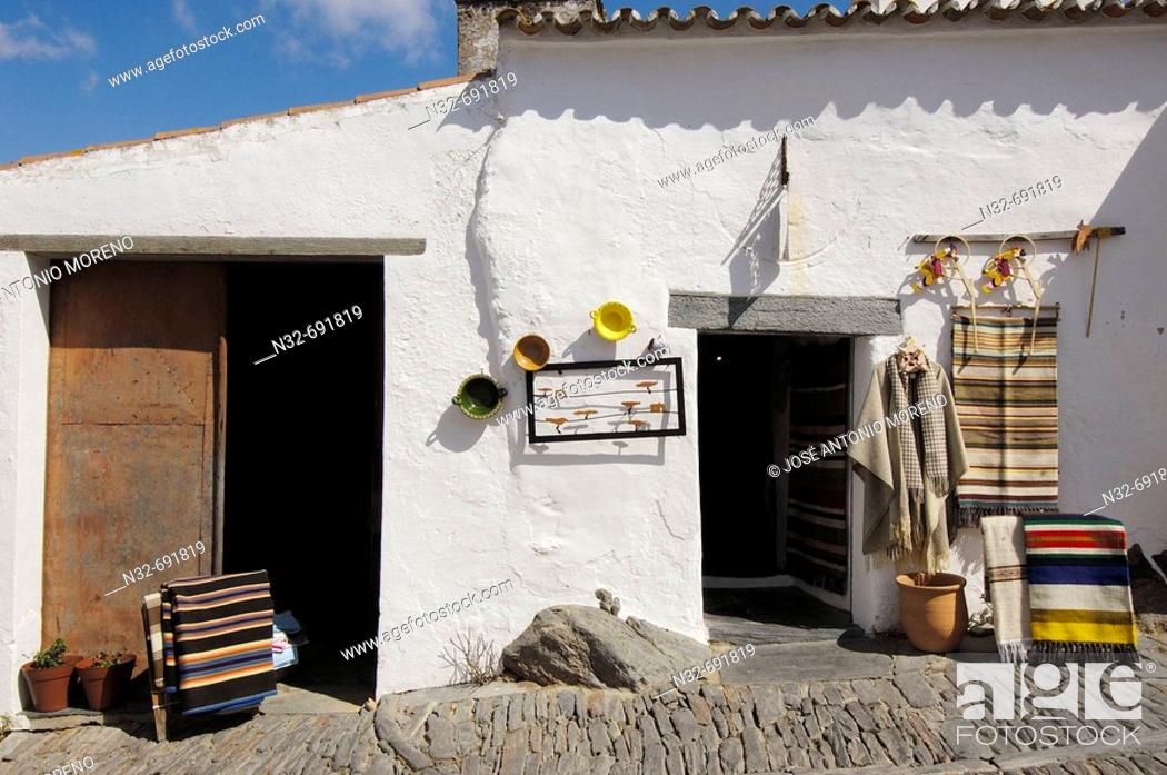 Stock Photo: Monsaraz, fortified medieval village. Alto Alentejo, Portugal.