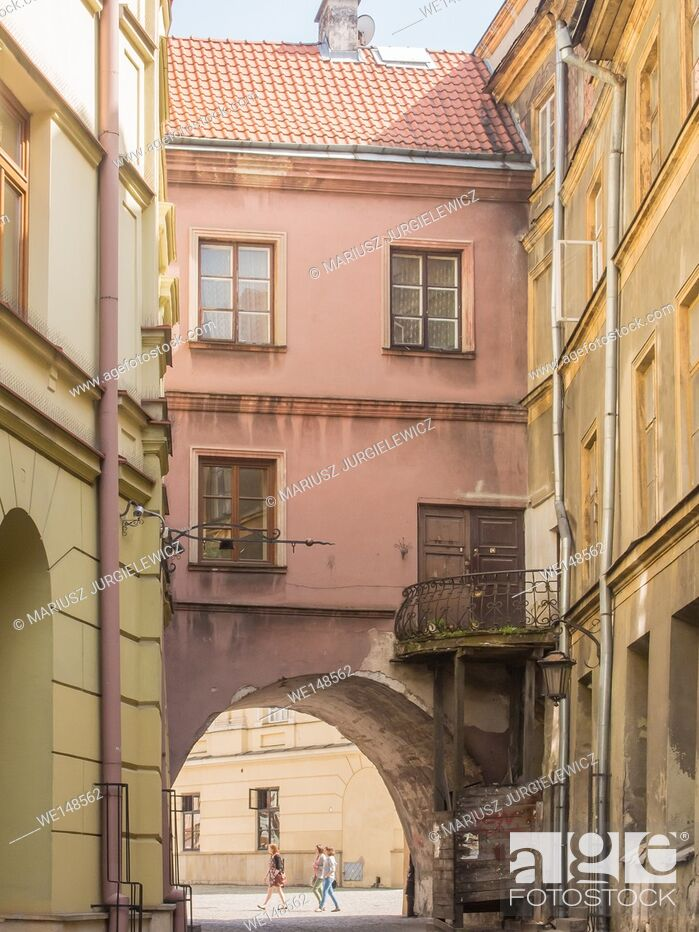 Stock Photo: Lublin Old Town is one of the most precious Polish complexes of historic buildings.