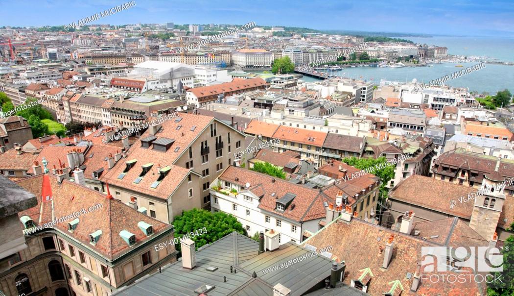 Stock Photo: Geneva, Switzerland.