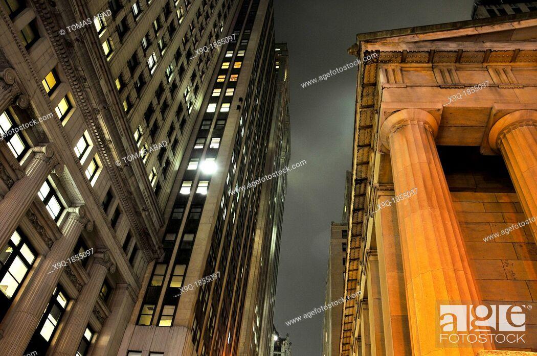 Imagen: Wall Street, Financial District, Manhattan, New York City, USA.