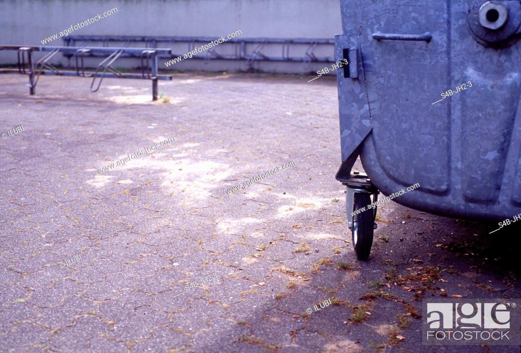 Stock Photo: Rubbish Container.