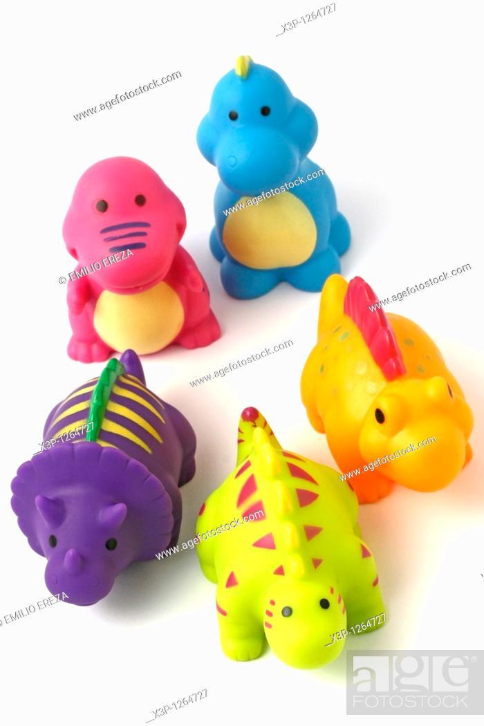 Stock Photo: Rubber toys.