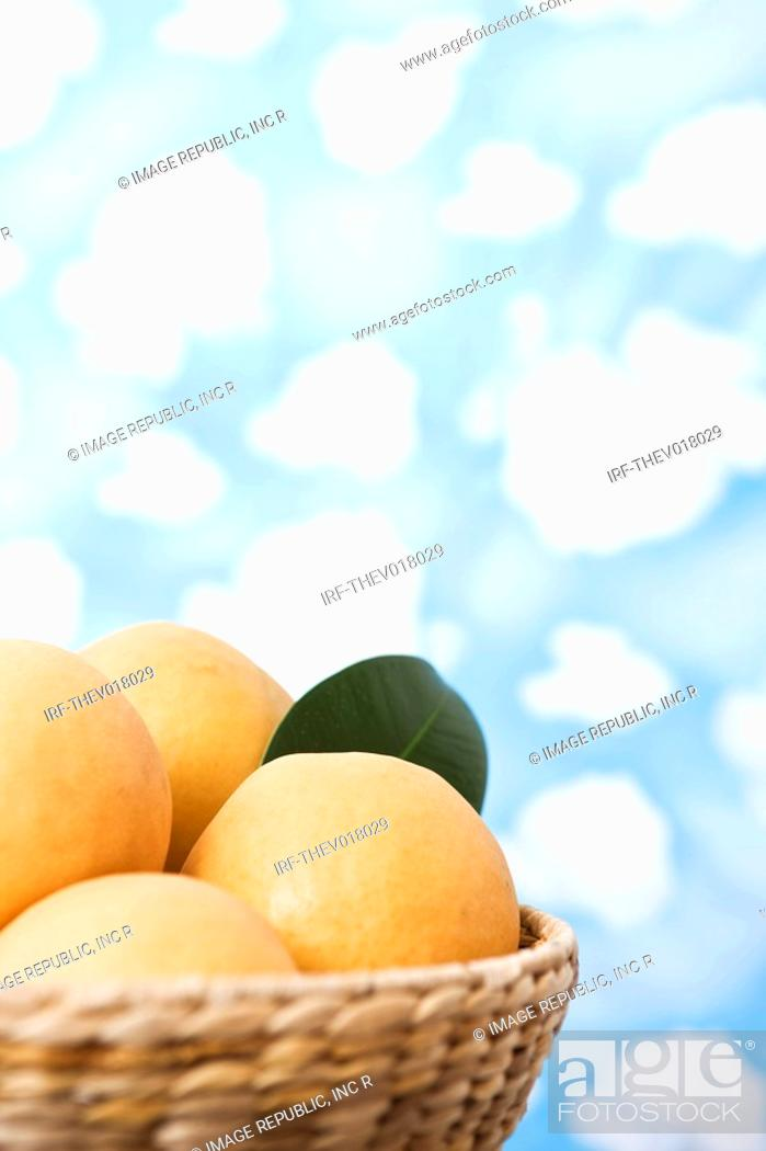 Stock Photo: wallpaper and pears.