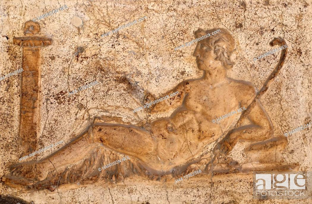 Rome, Italy, Europe, ancient Rome, fresco, painting, paint