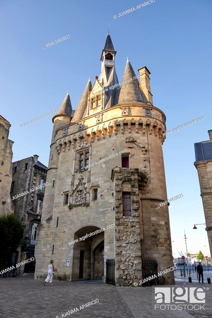 Stock Photo: Bordeaux, Gironde, Aquitaine, France, Europe.