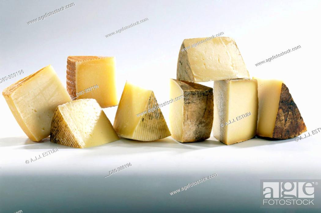 Stock Photo: Spanish cheese.