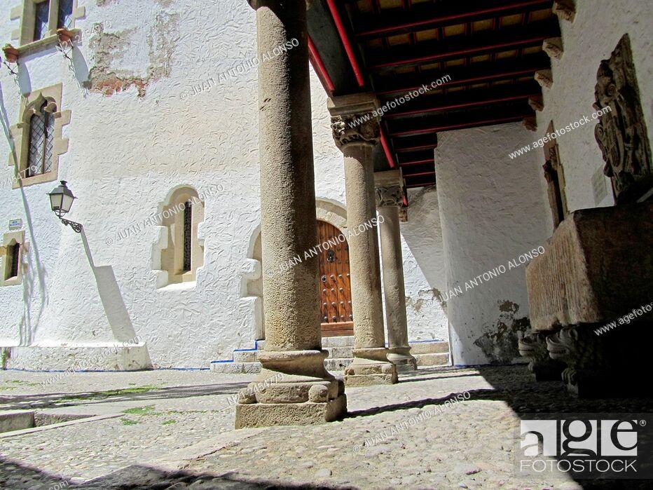 Stock Photo: Old Quarter. Sitges, Garraf, Barcelona, Catalonia, Spain, Europe.